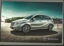 MERCEDES BENZ B CLASS B180CDI,B200CDI+B180/B200 BLUE EFFICIENCY BROCHURE 2011/12