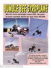 Prospekt Helicopter Aircraft Designs Bumble Bee Gyroplane, 2002, brochure