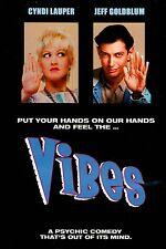 Vibes   - [DVD] Cyndi Lauper,  Jeff Goldblum, Peter Falk  **BRAND NEW**