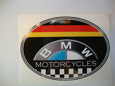 """2   B M W    4""""  MOTORBIKE HELMET STICKERS IOM TT SUZUKI HONDA YAMAHA"""