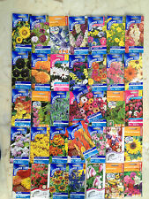 A TRUE BARGAIN - JOB LOT OF SUTTON SEEDS MIXED FLOWER & VEG  12 PACKETS FOR £5