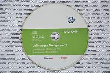 VW RNS 310 navigation CD FX V4 2012 Norway Skandinavien SEAT SKODA Finland