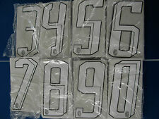 100 numeri misti milan 2007-2008 numero bianchi maglia milan adidas nuovo nuovi