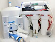 5 Stage Reverse Osmosis 100 GPD with Booster Pump Home Drinking Water