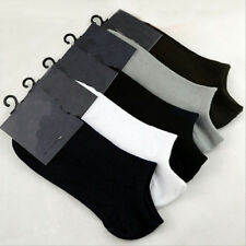 5Pairs Mens Womens Sport Socks Low Cut Crew Cotton Ankle Soft Casual Socks New