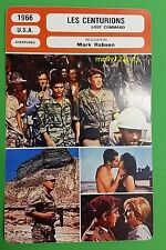 US Adventure Movie Lost Command Anthony Quinn French Film Trade Card