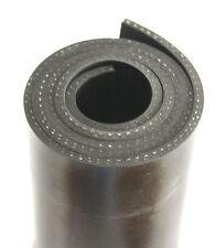 1000x200x3mm mit Gewebe Gummiauflage Gummistreifen Gummiplatte Gummimatte Gummi