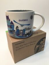 Starbucks Quebec You Are Here Series Québec 14oz Mug NIB USA Seller! Free Ship!