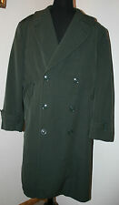 VTG 1960s Military-Issued Serge Gabardine Air Force Trench Coat 36R