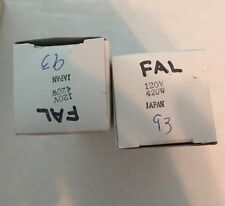 2 TWO FAL 120V 420W Projector Lamp Bulbs
