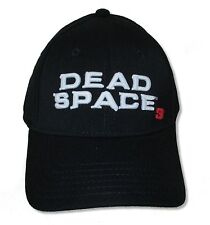 "DEAD SPACE 3 ""EMBROIDERED LOGO"" BLACK HAT NEW OFFICIAL"