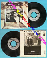 LP 45 7'' CAMOUFLAGE The great commandment Pompeji 1987 france no cd mc dvd