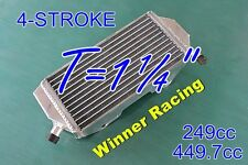 LEFT/No-fill cap SIDE;Aluminum radiator YAMAHA YZ250F YZ450F 4-STROKE 2014-2017