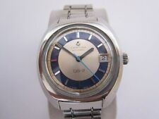 VINTAGE CERTINA TURTLE DS-2 AUTOMATIC 1970´S - SILVER & BLUE DIAL - VERY RARE