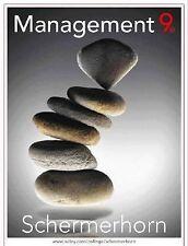 Management, Ninth Edition, Schermerhorn, John R., Good Book