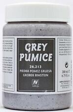 Vallejo Earths:  Stone Texture Rough Grey Pumice Paste (200ml)