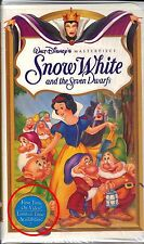 Snow White and the Seven Dwarfs (VHS, 1994) - Never Opened First Limited Edition