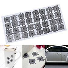 Simulation 32PCS Bullet Hole Orifice Sticker Graphic Decal Car Auto Funny Decor
