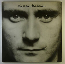"12"" LP - Phil Collins - Face Value - L4701 - washed & cleaned"