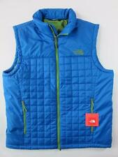 The North Face NEW Heatseeker Versant $150 Blue Quilt Puffer VEST Mens L Jacket
