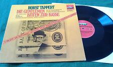 LP: Die Gentlemen bitten zur Kasse - Horst Tappert - Poly - Rar!