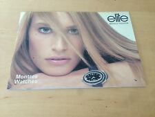 Like New  Catalog ELITE Models' Fashion  Catálogo - Watches Relojes - Como Nuevo