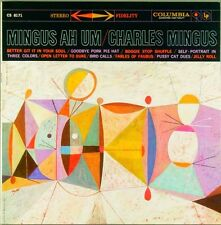 Charles Mingus MINGUS AH UM 180g Stereo COLUMBIA RECORDS New Sealed Vinyl LP