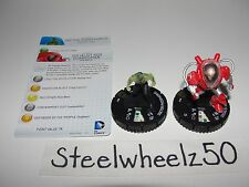 DC Heroclix Doctor Phosphorus #047 & Socialist Red Guardsman #049 Super Rare SR