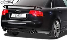 RDX Heckeinsatz AUDI A4 B7 Heck RS4 Look Heck Ansatz Blende Diffusor Hinten