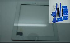 Brand NEW IPAD 3 4 Digitizer, touch screen, Vetro Frontale Bianco,3 M ADESIVI