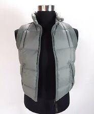 Mens DIESEL Real Down Gilet, Size S, XS, Grey sleeveless puffer jacket NDR295