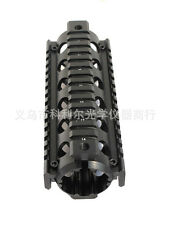 "20mm Matte Black Carbine Length 6.7"" Handguard Picatinny Quad Rail For gun"