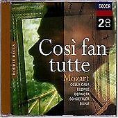 Mozart - Così fan tutte Decca Opera CD Bohm