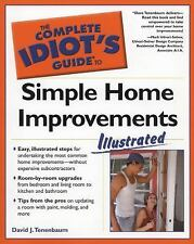 The Complete Idiot's Guide to Simple Home Improvements, Illustrated-ExLibrary