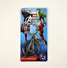MARVEL Comics Avengers Age of Ultron Official AVENGERS Logo Pewter KEY CHAIN