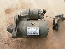DENSO C132 63101018  STARTER MOTOR  REMOVED FROM PUNTO 99-06
