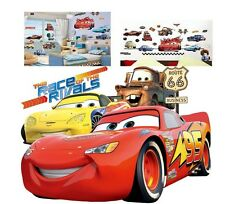 Disney McQueen  Cars  Wall Stickers Home Decor Nursery boy Kid Roommate