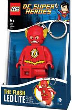 LEGO DC Super Heroes FLASH LED Torch Keychain NEW