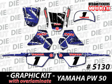 *NEW* GRAPHICS DECAL STICKER KIT PEEWEE PW50 PW 50CC 1981 to 2010 ALL YEARS 5130