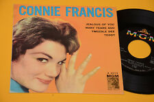 "7"" 45 ( NO LP ) CONNIE FRANCIS EP 4 CANZONI 1° ST ORIG 1960 EX TOP COLLECTORS"