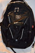 "High Sierra Elite Backpack Black Business Pack for 17"" Laptop & Tablet NEW"