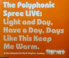 The Polyphonic Spree -Live CD Recorded At Shepherds Bush 27/10/02 Enhanced/Video