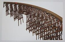 "JV Models ""Curved Trestle Bridge"" #1016 Kit N-Scale NIB"