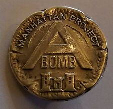 A BOMB  MANHATTAN PROJECT  WWII ATOMIC BOMB   WHITEHEAD-HOAG STERLING PIN