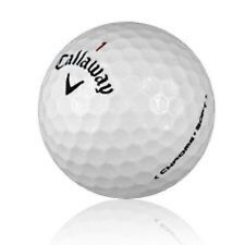 100 AAA+ Callaway Chrome Soft Used Golf Balls + Free Dual Brush