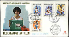 Netherlands Antilles 1966 Child Welfare Fund FDC First Day Cover #C26597