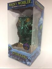 "Funko RARE METALLIC H.P. Lovecraft CTHULHU 6"" WACKY WOBBLER SIGNED #10 OF 12"