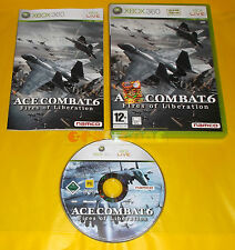 ACE COMBAT 6 FIRES OF LIBERATION XBOX 360 Vers Italiana 1ª Ed ○○ COMPLETO - AI