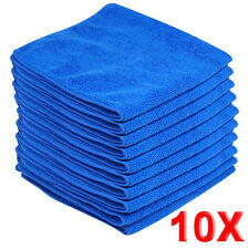 10x Large Microfibre Cleaning Auto Car Detailing Soft Cloths Wash Towel Duster #