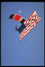 599014 parachutiste avec American Flag A4 papier photo